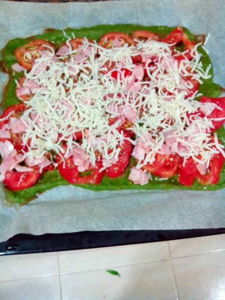 Volver… con recetas: Pizza verde.